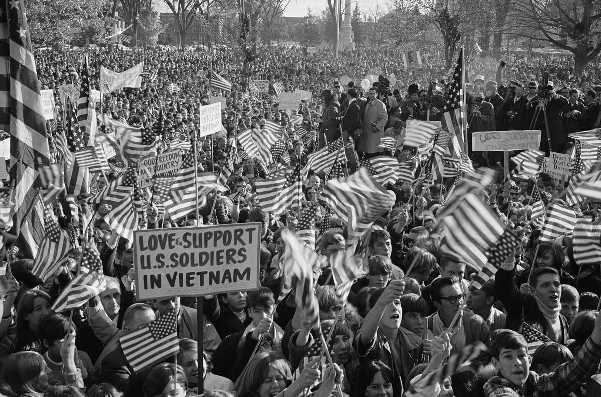 Pro-military Demonstration 1967